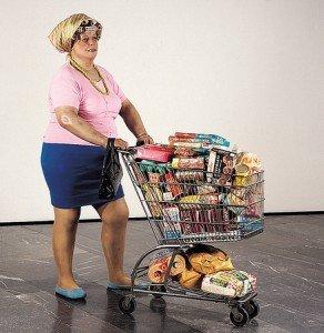 Hanson_Duane-_1969_-_Supermarket_Lady